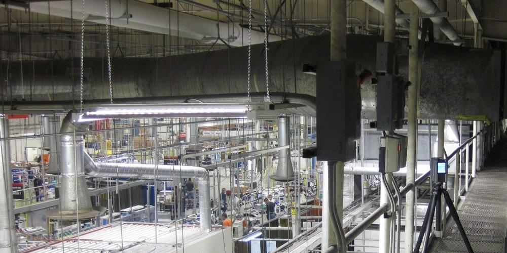 3D Laser Scanning - MEP System Seismic Upgrade